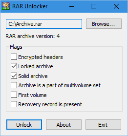 RAR Unlocker - RaMMicHaeL's Blog
