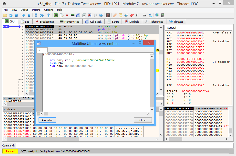 Ice is a kernel modedebugger for microsoft windows up to windows xp